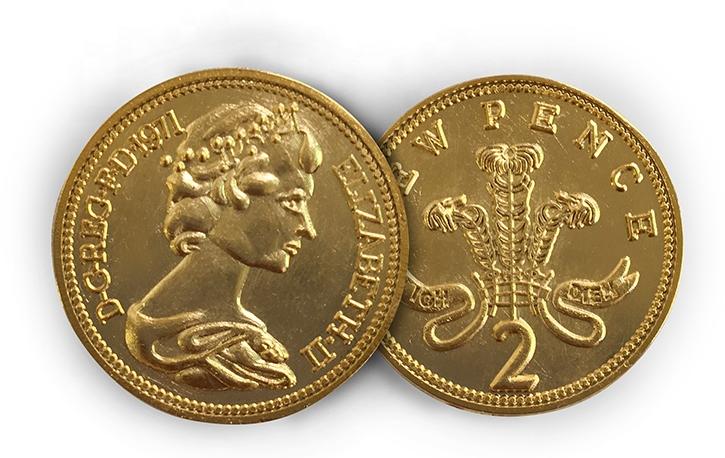 اسعار عملات الملكه اليزابيث