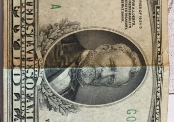 50 دولار امريكي اصدار سنة 1934