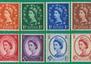 اغلى الطوابع البريطانية القديمة